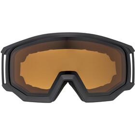UVEX Athletic P Goggles, black mat/polavision